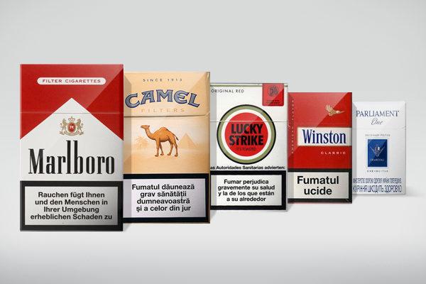 Самые популярные бренды сигарет